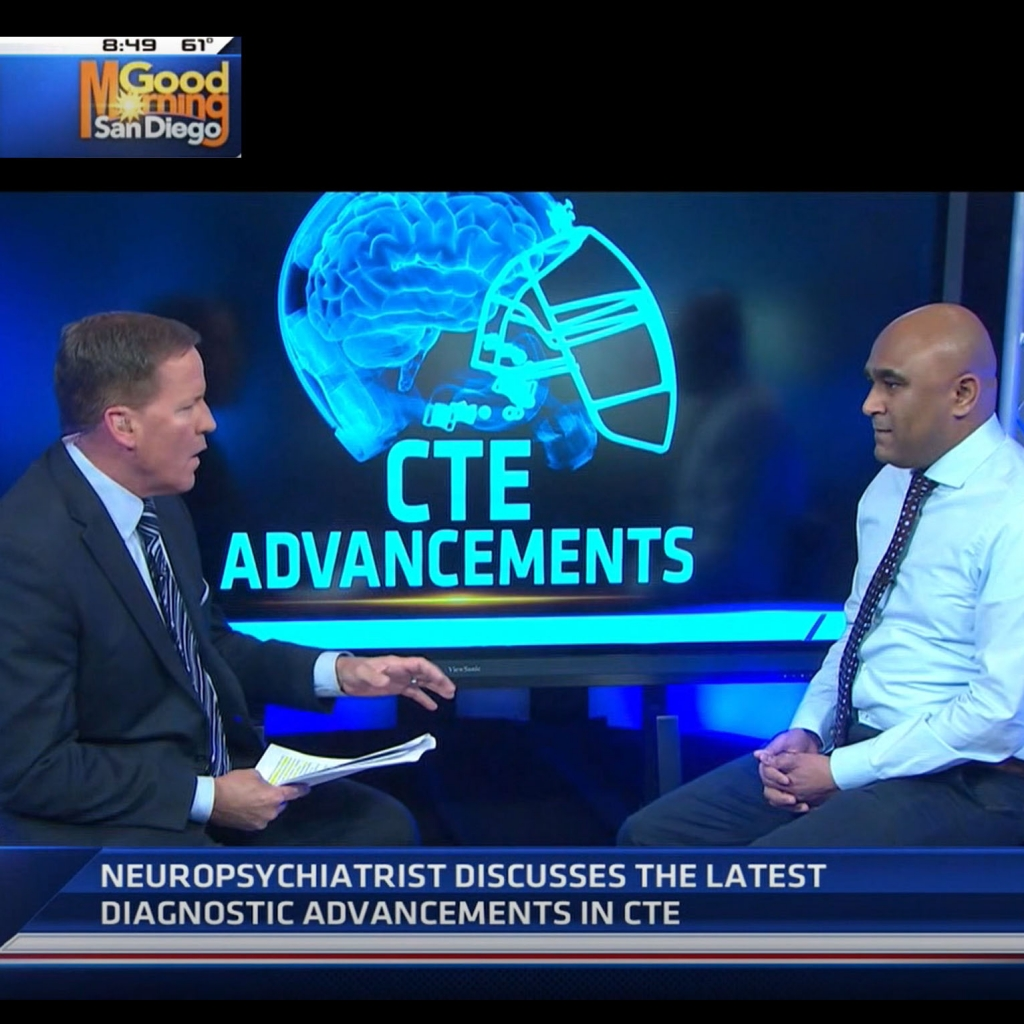 KAIZEN NEUROPSYCHIATRIST AND MEDICAL DIRECTOR MOHAMMED AHMED DISCUSSES THE LATEST DIAGNOSTIC ADVANCEMENTS IN CTE.