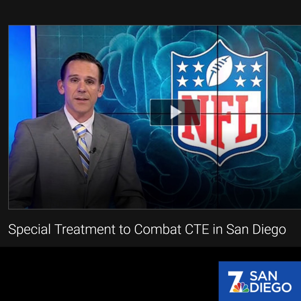 SPECIAL TREATMENT TO COMBAT CTE IN SAN DIEGO